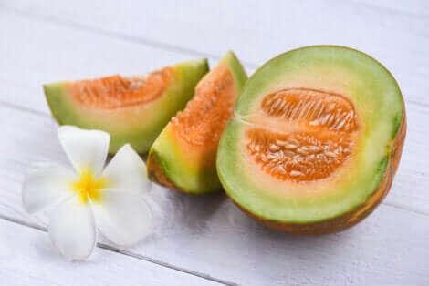 Un beau melon.