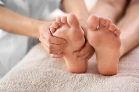 Des pieds sains.