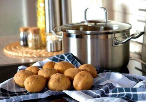 Des pommes de terre.