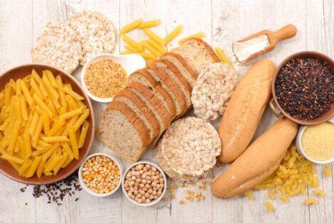 Des aliments pour personnes cœliaques.