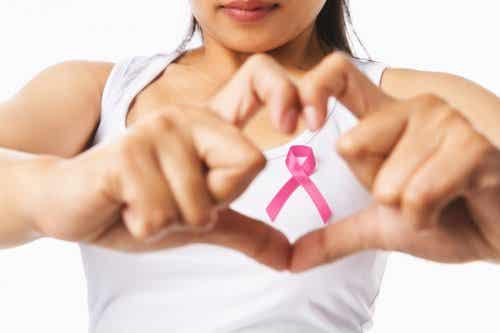 La lutte contre le cancer du sein.