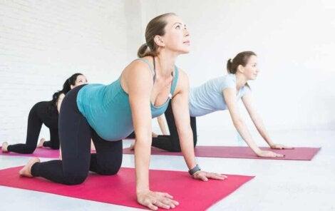 Faire de l exercice en étant enceinte.
