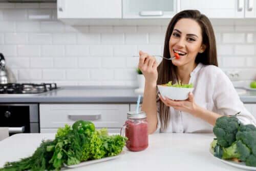 L'influence de l'alimentation sur la peau