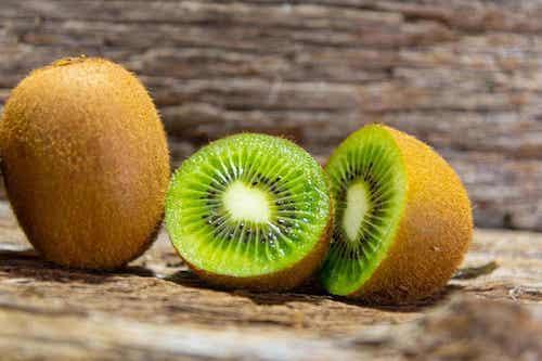 Ingrédients de la confiture de kiwi.