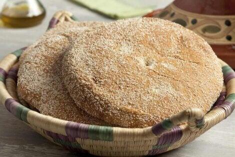 Du pain du maroc.