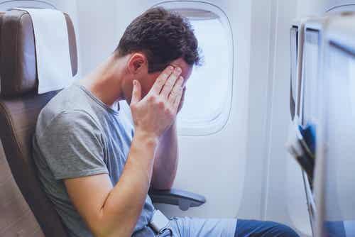 La peur de l'avion.