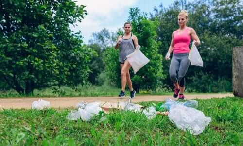 Plogging : faire du sport en prenant soin de l'environnement