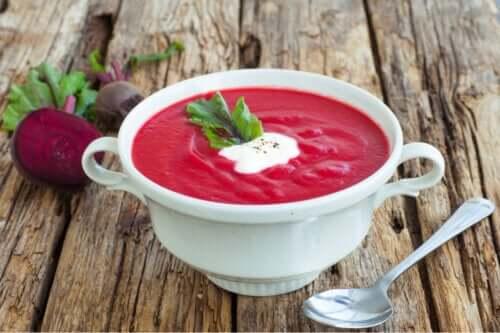 Comment faire une soupe de betterave ?