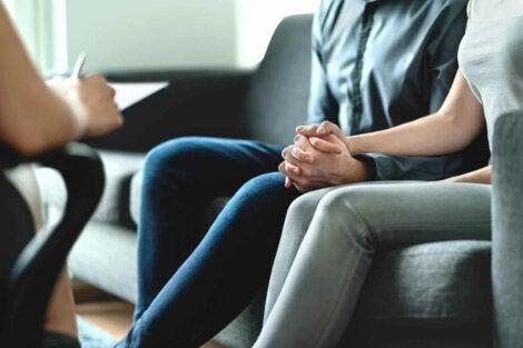 Une thérapie de couple pour infertilité.