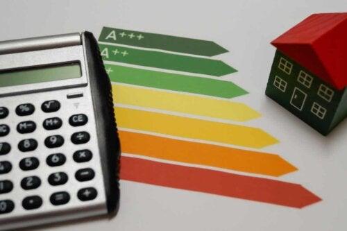 La classification énergétique pour la consommation.