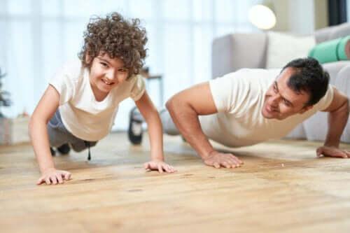 Le renforcement musculaire chez les enfants
