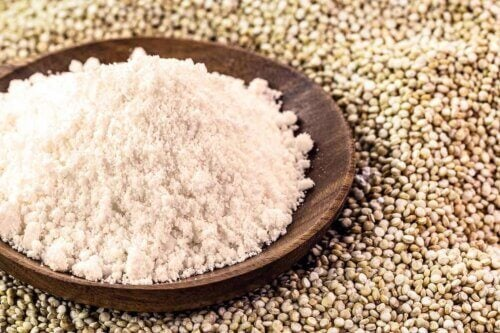 De la farine de quinoa.