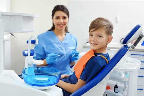 L'orthodontie chez les enfants.