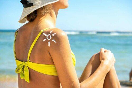Une protection solaire en été.