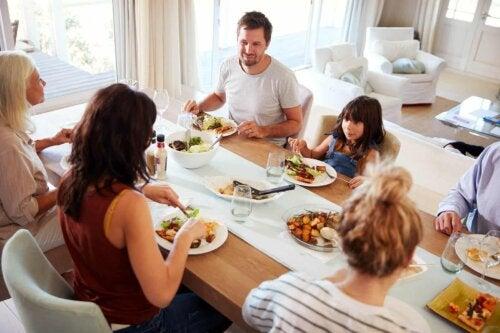 Un repas de famille.
