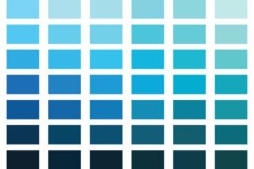 Que signifie la couleur bleue en psychologie ?