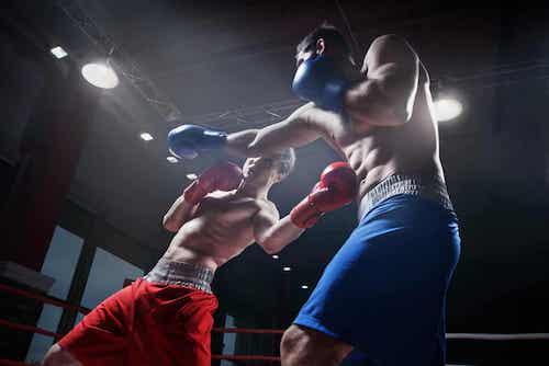 Des exercices de boxe.
