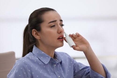 Est-il possible de développer une dépendance au spray nasal ?