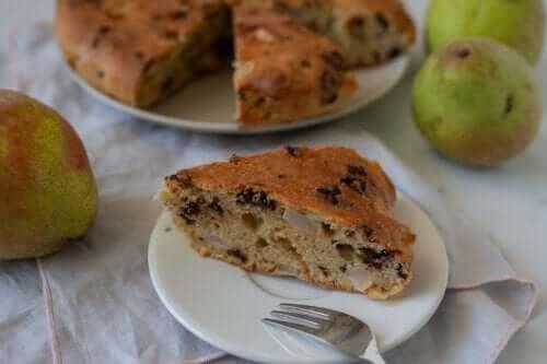 Gâteau à la poire : recette pas à pas
