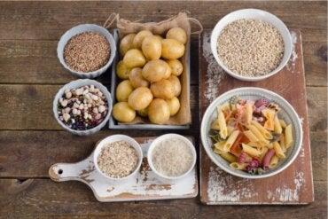 3 aliments sains riches en glucides