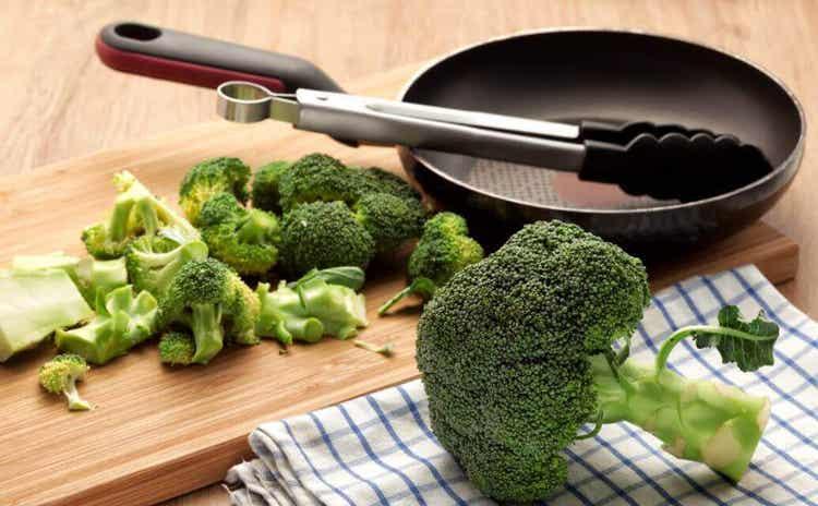 Les légumes crucifères.
