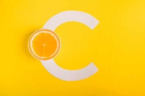 Le logo de la vitamine C.