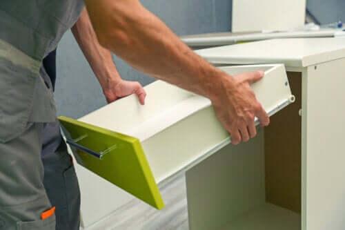 5 types de matériaux pour les meubles de cuisine