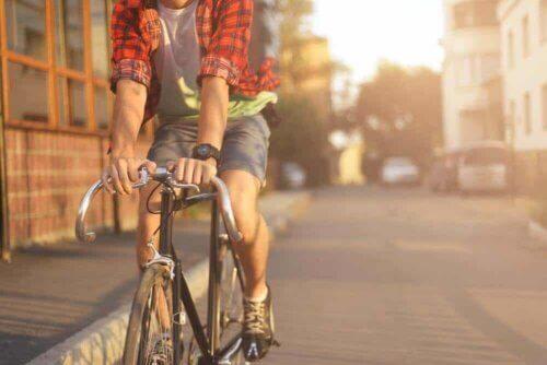 Une promenade à vélo.