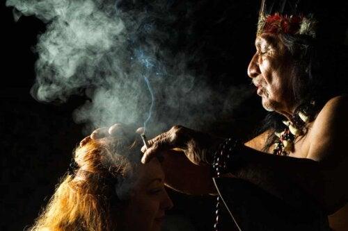 Un rituel ayahuasca.