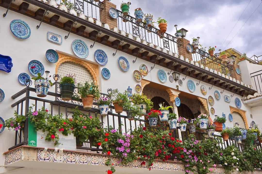 patio au style andalou