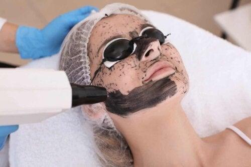Un traitement au laser.