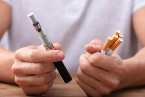 Vapoter est-il mieux qu'arrêter de fumer ?