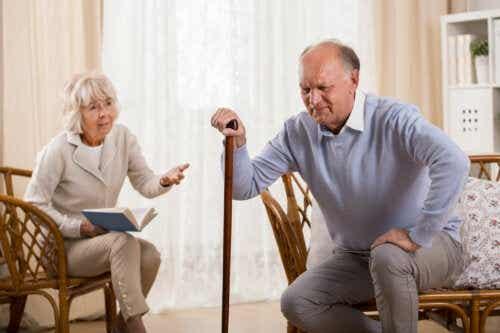 Syndrome post-chute chez les personnes âgées