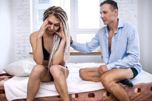 Anxiété dans les rapports sexuels