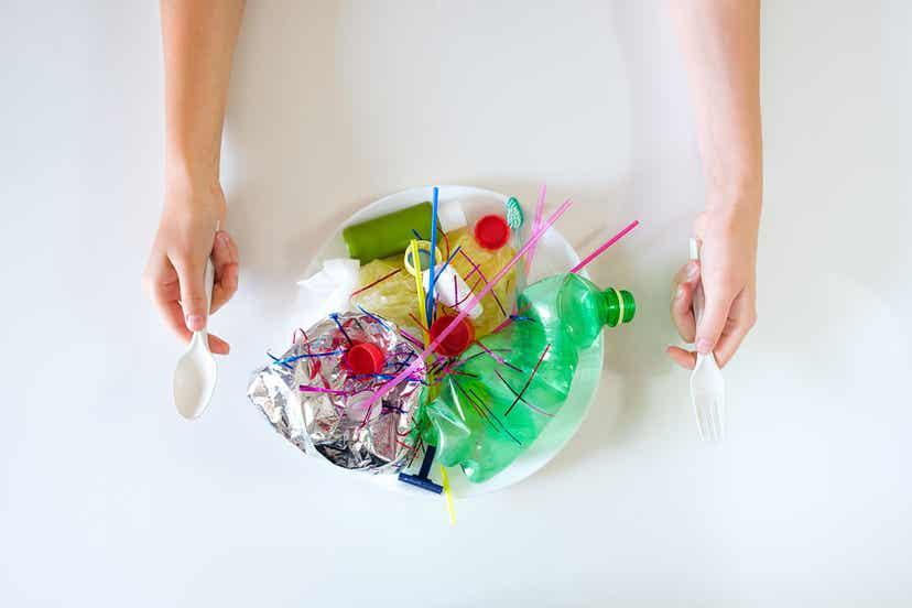 Des microplastiques.