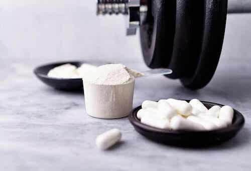 Suppléments et nutrition sportive.