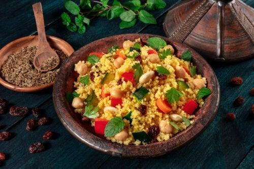 Comment préparer un couscous végétarien ?